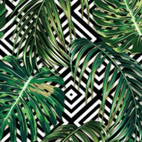 Купальник с кроп-топом MARYSSIL, green palm 64