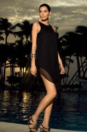 Пляжное платье с бисером  ICONIQUE