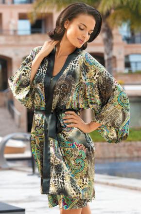 Халат кимоно мини Mia-Mia - FIORENZA
