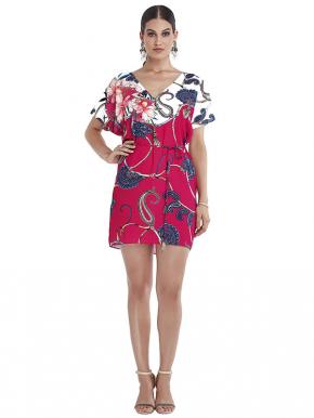 Пляжная туника-платье Magistral - AMIRA pink