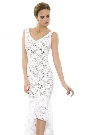 Ажурное платье миди Rebecca - RESORT LUX