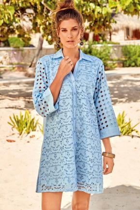 Пляжное платье-рубашка David - KOS, 100% хлопок