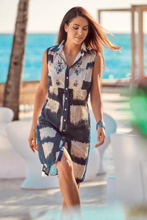 Пляжная туника-блуза DAVID, 100% хлопок