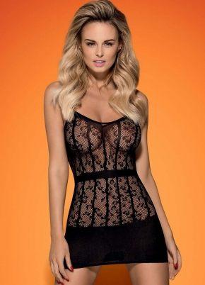 Эротическое платье сетка  Obsessive D 605