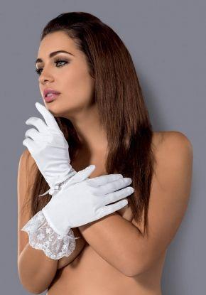 Перчатки ажурные Obsessive - ETHERIA