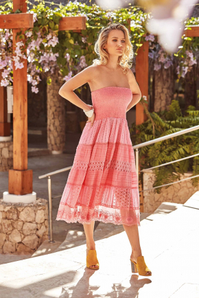 Пляжное платье бандо ICONIQUE - Gaia, 100% хлопок
