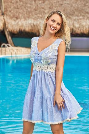 Пляжное платье ICONIQUE - ALBA, 100% хлопок