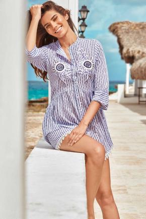 Пляжная блуза ICONIQUE - Sandra, 100% хлопок