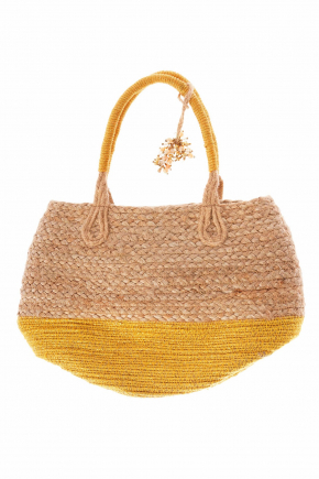 Пляжная сумка из джута ICONIQUE - SHINE