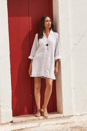 Пляжная туника-блуза ICONIQUE - 005, 100% хлопок