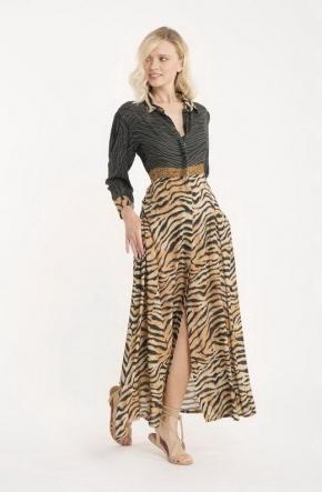 Пляжное платье макси ICONIQUE - 102, 100% хлопок