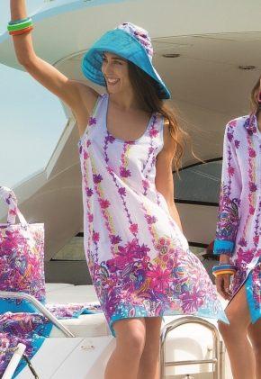 Платье мини ICONIQUE 052, 100% хлопок