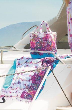 Пляжная стеганая сумка, 100% хлопок