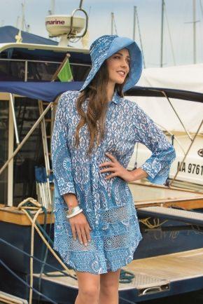 Пляжная блуза ICONIQUE 063, 100% хлопок