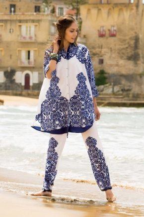 Пляжная блуза-туника ICONIQUE 091