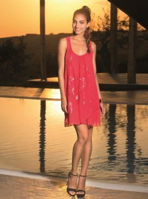 Пляжное платье с пайетками ICONIQUE