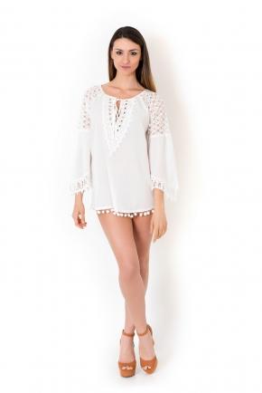 Пляжная блуза ICONIQUE 12, 100% хлопок