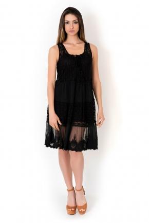 Пляжное платье ажурное ICONIQUE - AJURE