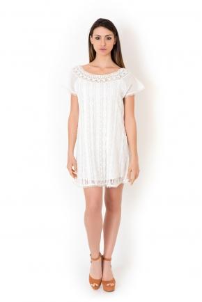 Пляжное платье мини Iconique - RESORT Lace