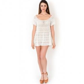 Пляжное платье мини Iconique - AZURE