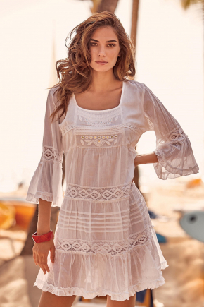 Пляжная туника-платье Iconique 001, 100% хлопок