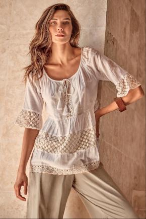 Пляжная блуза ICONIQUE Resort 025, 100% хлопок