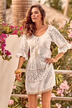 Пляжное платье Iconique - RESORT Pompon