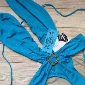 Купальник монокини с вырезом REBECCA, Blue