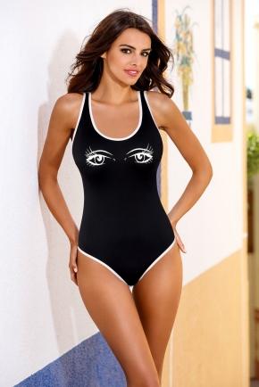 Слитный купальник LORIN - LOOK Black