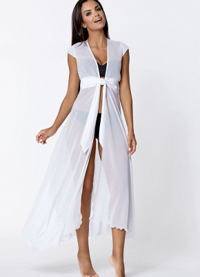 Пляжная туника-платье LORIN - BASIC White