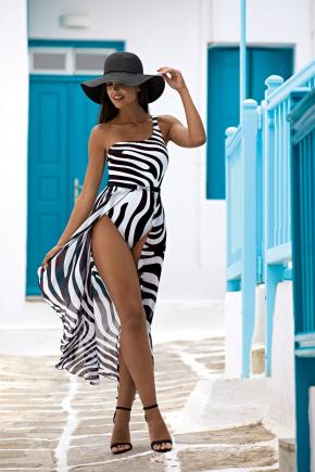 Пляжная юбка макси LORIN - BASIC Animalier