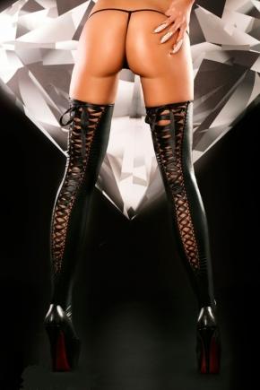 Чулки со шнуровкой Lolitta - Lacing