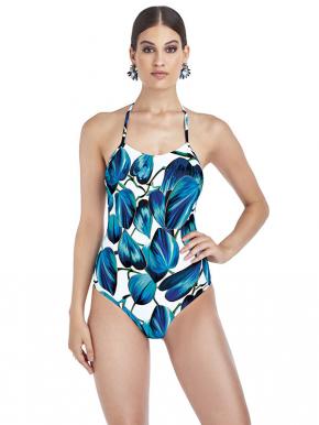 Слитный купальник боди Magistral - PARMA blue