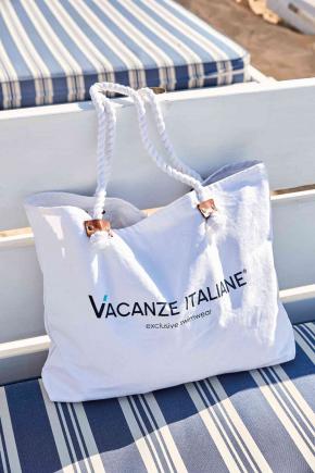 Пляжная сумка Vacanze Italiane - CRUISE white