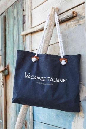 Пляжная сумка Vacanze Italiane - CRUISE navy