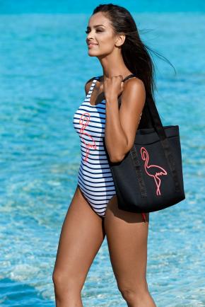 Пляжная сумка LORIN - FLAMINGO