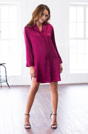 Рубашка Mia-Mia - ROSEMARY, 100% шелк