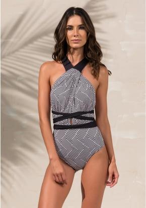 Слитный купальник Larissa Minatto - DIVA GEO