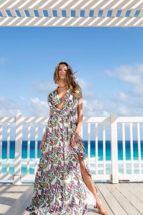 Пляжное платье-туника Maryssil - LUX DIVAS