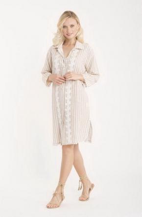 Пляжная туника-блуза ICONIQUE - 032, 100% хлопок