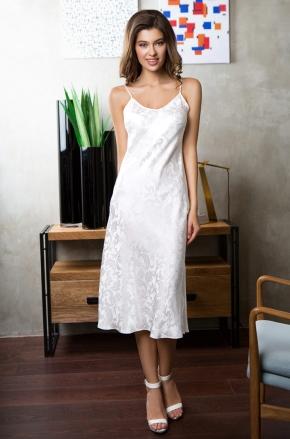 Сорочка-платье миди MIA-MIA - EVA, 100% шелк