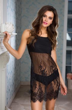 Сорочка-платье мини Mia-Mia - LOLITA