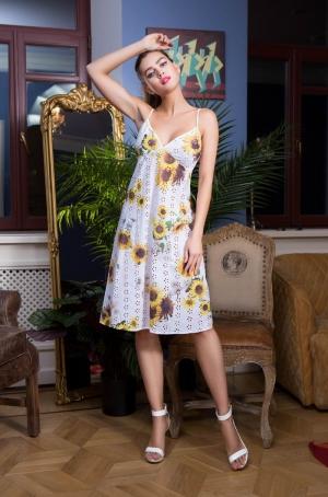 пляжное платье с подсолнухами миа миа