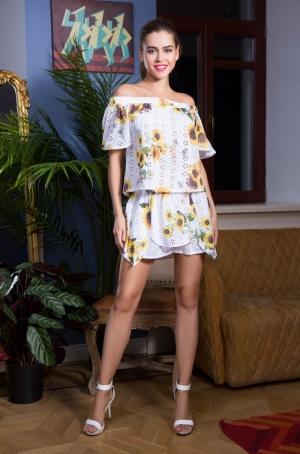 летний Комплект пляжный Mia-Mia - CHLOE: топ + шорты